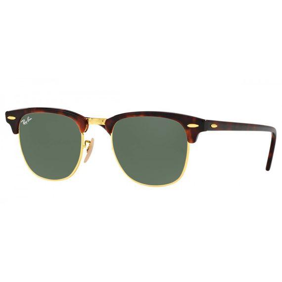 Óculos de Sol Ray Ban Clubmaster - RB3016 W0366 51