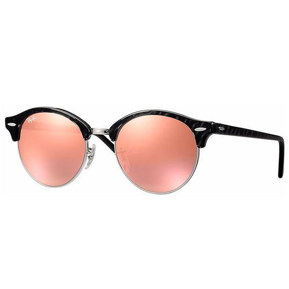Óculos de Sol Ray Ban Clubround - RB4246 1197-Z2 51
