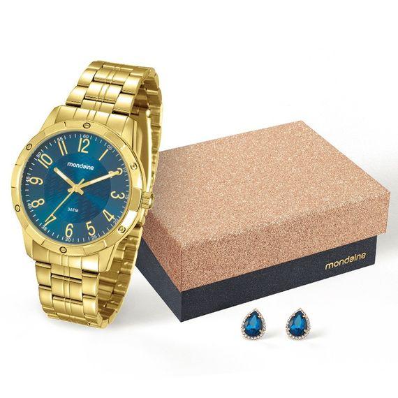 Kit Relógio Mondaine Feminino - 94774LPMKDE4K2