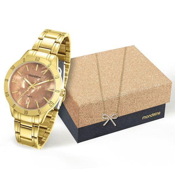 Kit Relógio Mondaine Feminino - 94870LPMKDE2K1