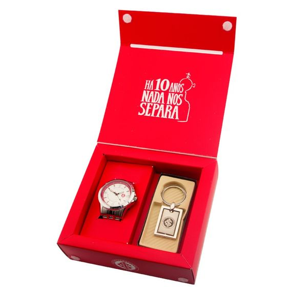 Kit Relógio Technos Masculino Internacional - INT2115AA-K3K