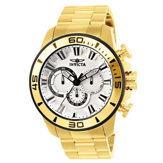 Relógio Invicta Masculino Pro Diver Dourado - 22589