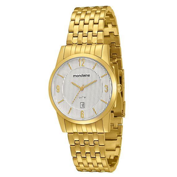 Relógio Mondaine Feminino Dourado em Aço - 94595GPMBDA1