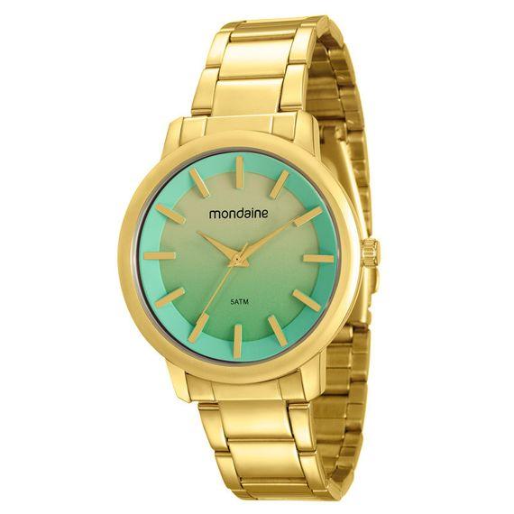 Relógio Mondaine Feminino Dourado - 53533LPMVDE2