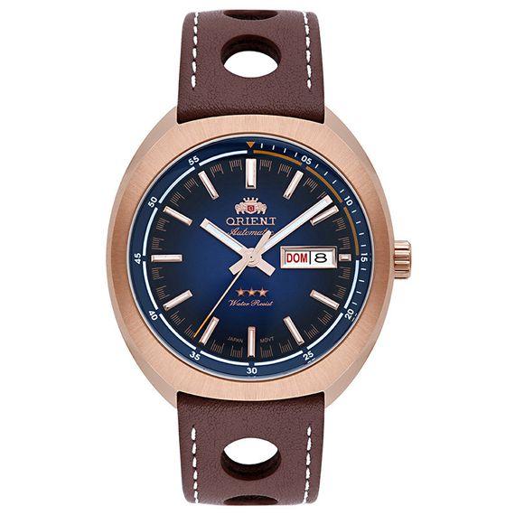Relógio Orient Masculino Analógico Rosê - 469RP082 D1MB