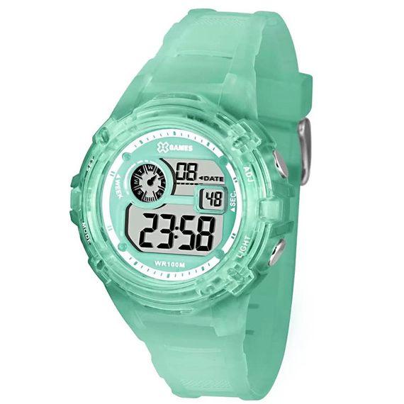 Relógio X-Games Feminino X-Tyle Verde Água - XFPPD042
