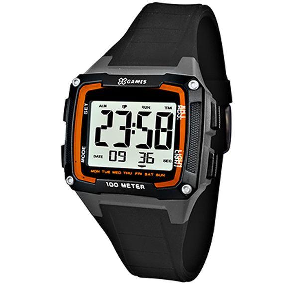 Relógio X-Games Masculino X-Tyle Preto e Cinza - XGPPD096