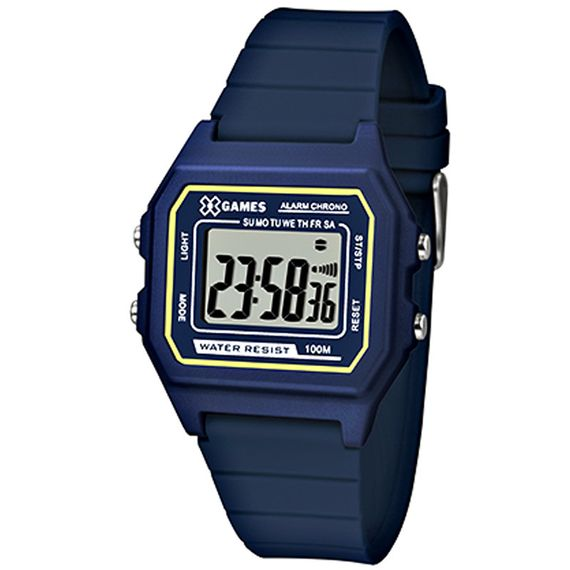 Relógio X-Games Masculino X-Tyle Azul - XGPPD108
