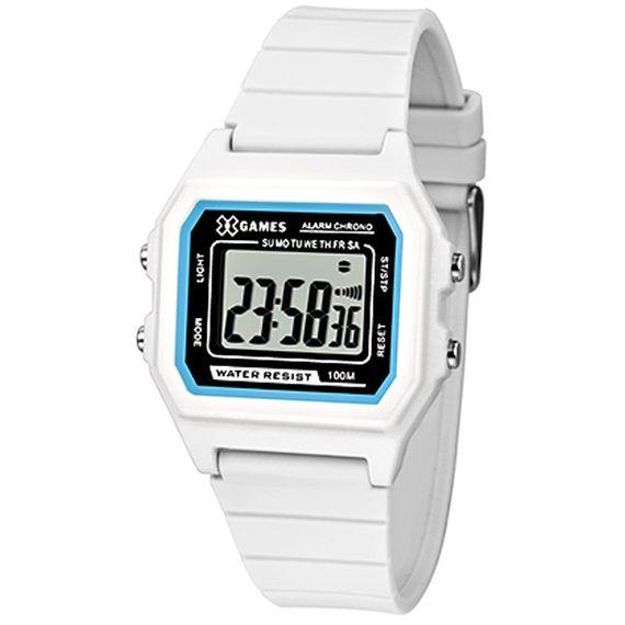 Relógio X-Games Feminino X-Tyle Branca - XLPPD028