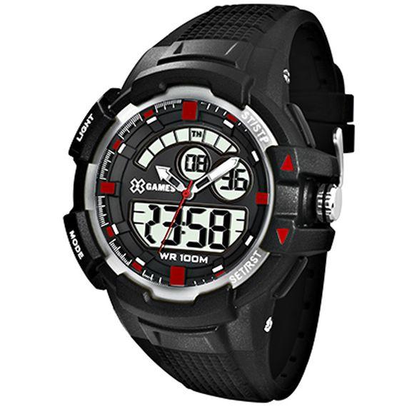 Relógio X-Games Masculino X-Tyle Preto - XMPPA231
