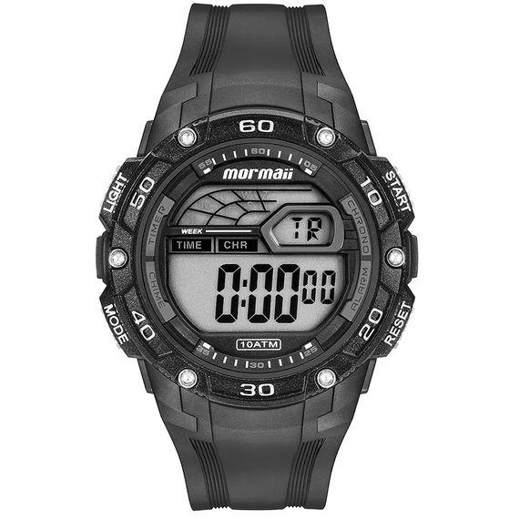 Relógio Mormaii Digital Masculino Wave Preto - MO9670AB/8C