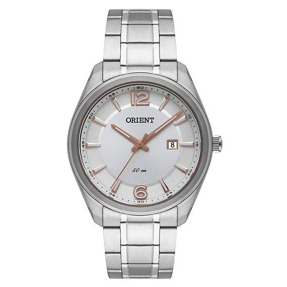 Relógio Orient Masculino Prata - MBSS1342 S2SX