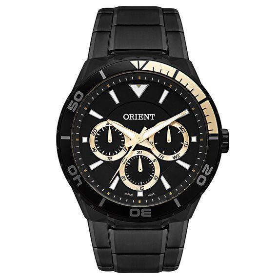 Relógio Orient Masculino Preto com Dourado - MPSSM002 P1PX