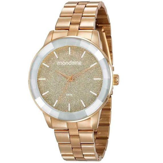 Relógio Mondaine Dourado Brilhante - 53710LPMVDE1