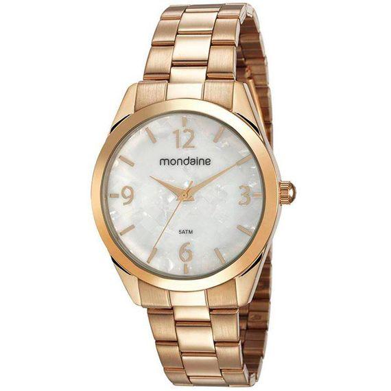 Relógio Mondaine Dourado com Madrepérola - 53671LPMVDE1
