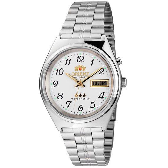 Relógio Orient Masculino Automático Prata - 469WB1A B2SX