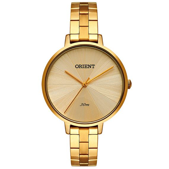 Relógio Orient Feminino Eternal Dourado - FGSS0146/C1KX