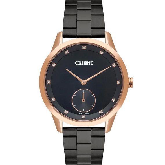 Relógio Orient Feminino Preto e Dourado - FTSS0097 P1SX