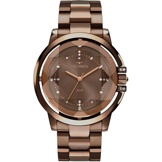Relógio Technos Feminino Crystal Swarovski - 2036MLM/4M