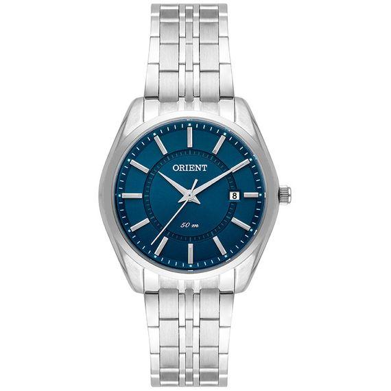 Relógio Orient Feminino Prata e Azul - FBSS1144 D1SX