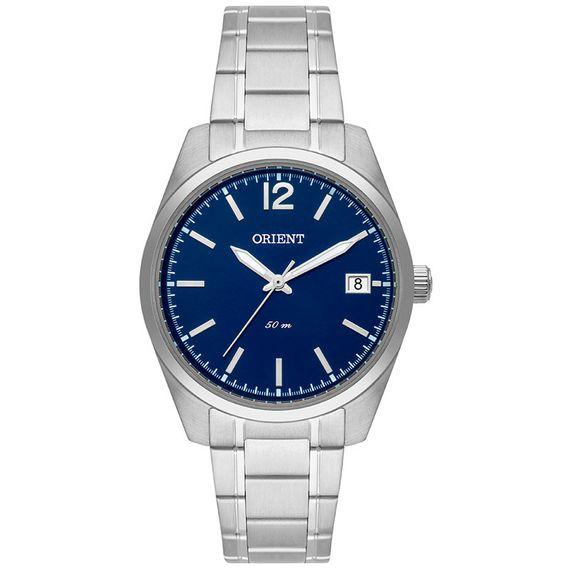 Relógio Orient Feminino Prata e Azul - FBSS1145 D2SX
