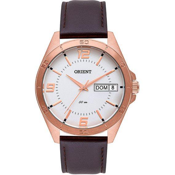Relógio Orient Masculino Rose de Couro - MRSC2001 S2NX