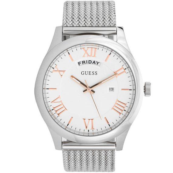 Relógio Guess Masculino Prata - 92633M0GDNA1