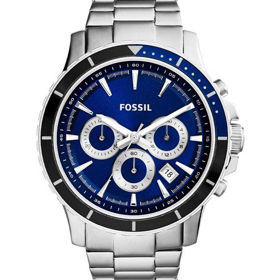 Relógio Fossil Masculino Prata e Azul - CH2927/1KN