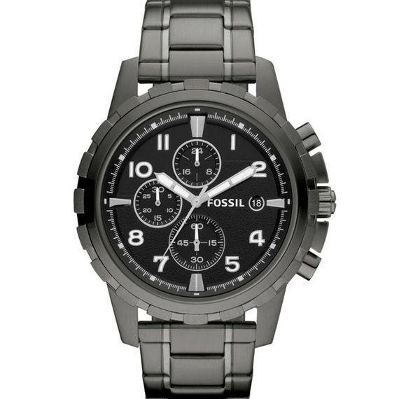 Relógio Fossil Masculino Grafite - FS4721/4PN
