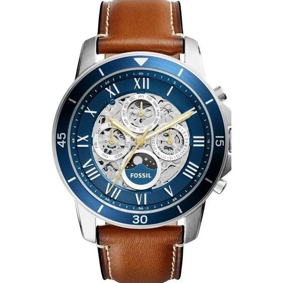 Relógio Fossil Masculino com Pulseira de Couro - ME3140/0KN