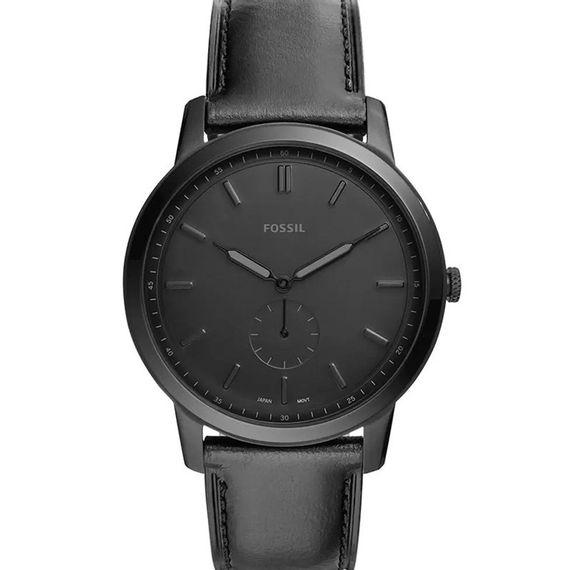 Relógio Fossil Masculino Analógico Couro Preto - FS5447/0PN