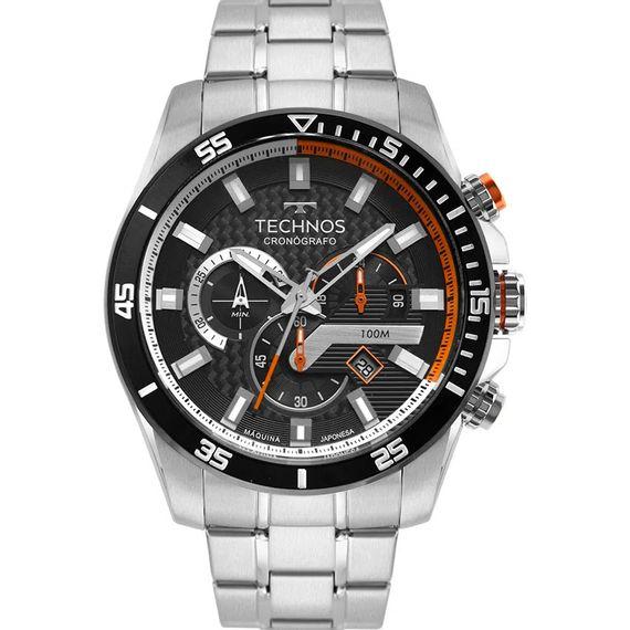 Relógio Technos Masculino Cronógrafo Prata- JS25CO/1P Relógio Technos Masculino Cronógrafo Prata  JS25CO 1P
