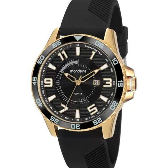 Relógio Masculino Analógico Preto Mondaine - 32138GPMVDI1