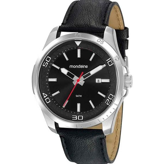 Relógio Masculino Analógico Preto Mondaine - 32145G0MVNH2