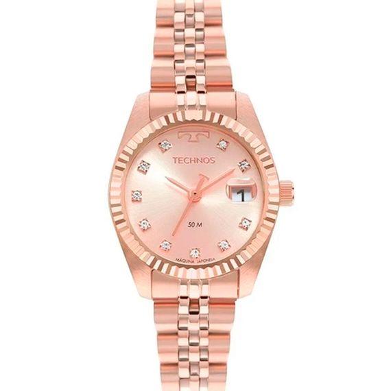 Relógio Analógico Feminino Technos Riviera Rosé - GL10IH1T