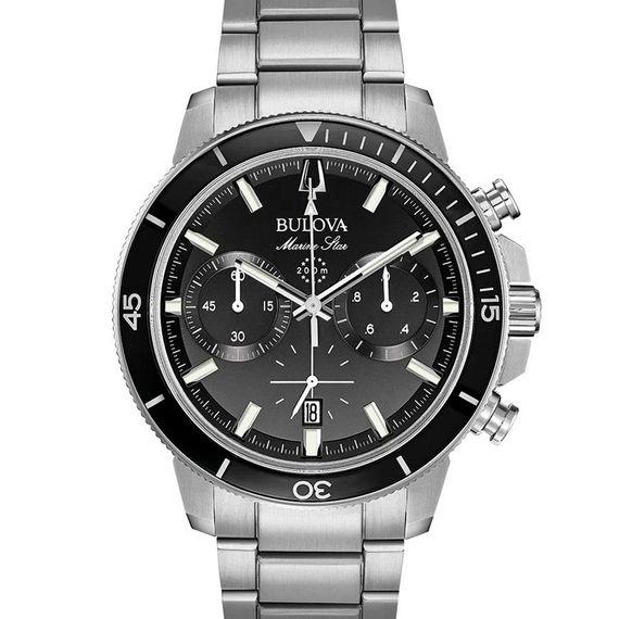 Relógio Analógico Masculino Bulova Marine Star - 96B272N
