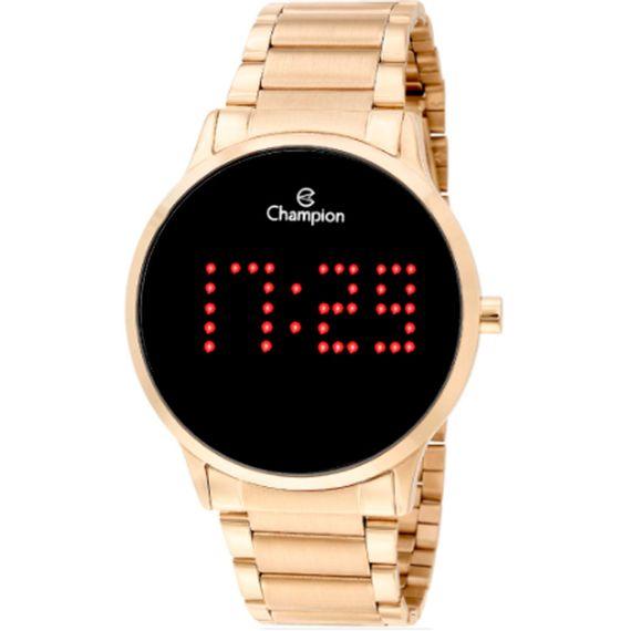 Relógio Champion Feminino Digital Dourado-CH40035V